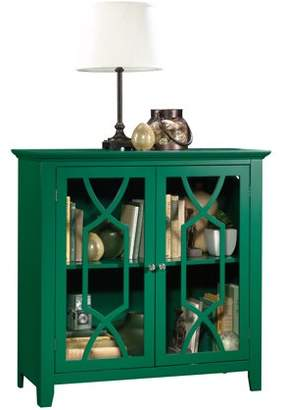 Sauder Shoal Creek Display Cabinet, Multiple Finishes
