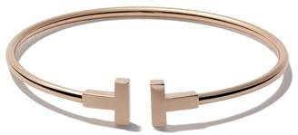 Tiffany & Co. & Co 18kt rose gold T wire cuff