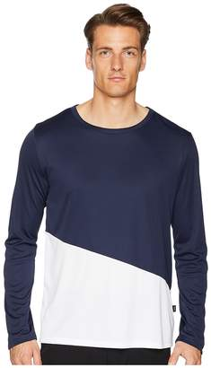 Onia Color Block Long Sleeve Swim Tee Men's Swimwear