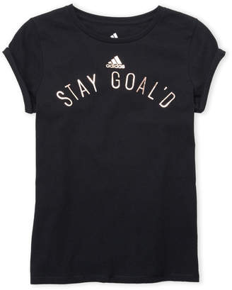 adidas Girls 7-16) Stay Goald Tee