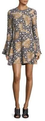 A.L.C. Trixie Printed Bell Dress