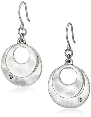 Kenneth Cole New York Tone Layered Earrings