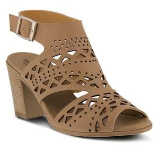 1eab1c3c7119 Spring Step Beige Cut Out Women s Sandals - ShopStyle