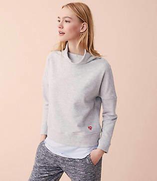 Lou & Grey Hope Heart Patch Sweatshirt