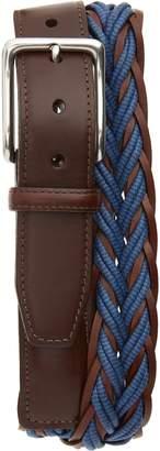 Torino Belts Torino Braided Cotton & Leather Belt