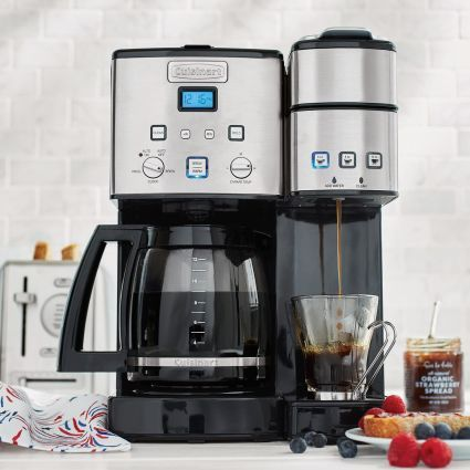 Cuisinart Coffee Center12-Cup Coffee Maker and Single Serve Brewer