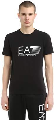 Training Logo Printed Cotton T-Shirt