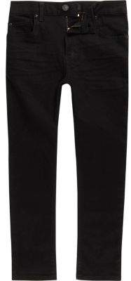 River Island Boys black skinny Sid jeans