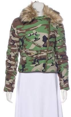 Denim & Supply Ralph Lauren Hooded Casual Jacket