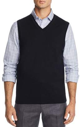 Bloomingdale's The Men's Store at V-Neck Merino Wool Vest - 100% Exclusive