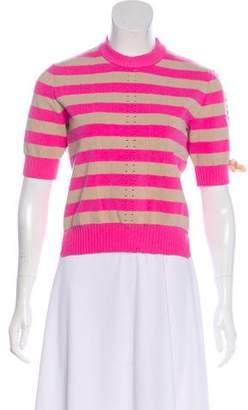 Fendi Striped Knit Top
