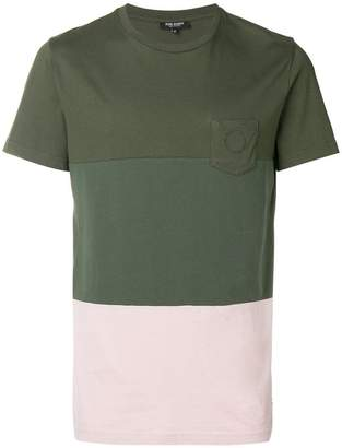 Ron Dorff colour-block short sleeve T-shirt