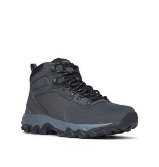 Columbia Men's Newton Ridge Plus II Suede Waterproof Boot Breathable with High-Traction Grip Hiking