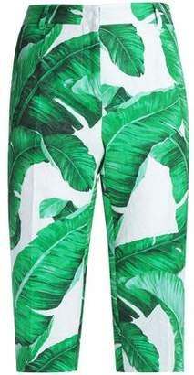 Dolce & Gabbana Printed Cotton And Silk-Blend Jacquard Shorts