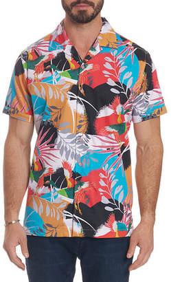 Robert Graham Men's Sakura Short-Sleeve Button Shirt