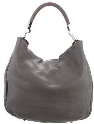 Saint Laurent Vintage Leather Hobo Bag