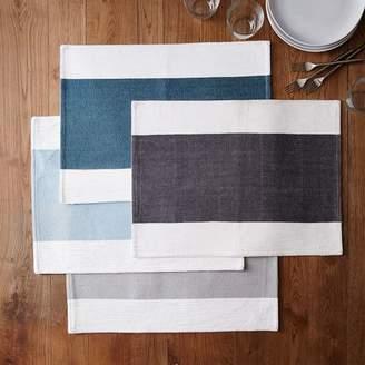 west elm Center Stripe Woven Placemat Set