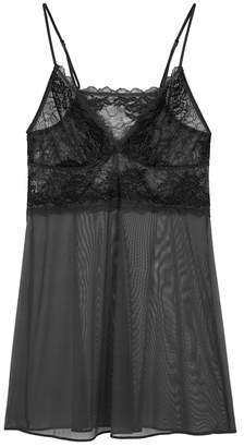 Wacoal Perfection Lace-panelled Chemise