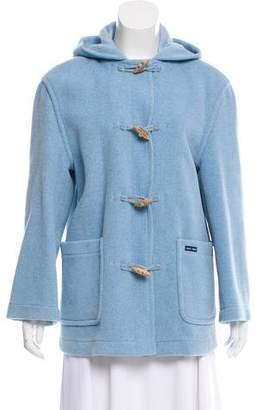 Saint James Hooded Wool-Blend Jacket