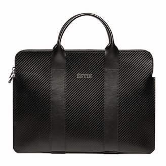 """Éstie Carbon Fiber Leather Slim 13"""" Laptop Case"""
