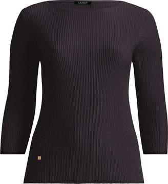 Lauren Ralph Lauren Ralph Lauren Cotton-Blend Boatneck Sweater