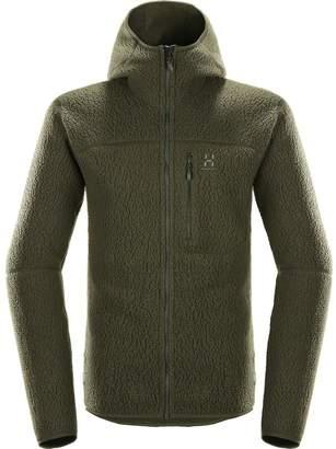 Haglöfs Pile Hooded Fleece Jacket - Men's