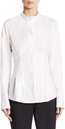 Theory Women's Narthus Casual Button-Down Shirt