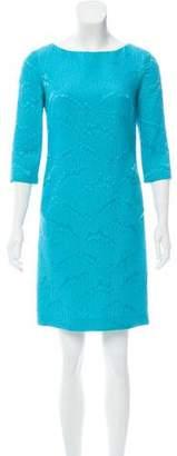 Michael Kors Jacquard Mini Dress