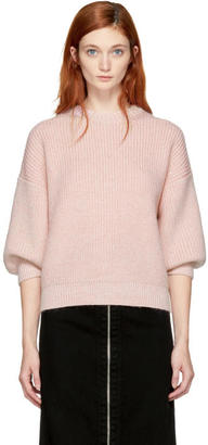 3.1 Phillip Lim Pink Mohair Sweater