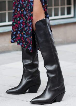 And other stories Knee High Cowboy Boots