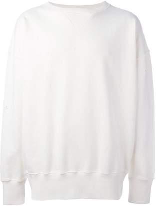 Faith Connexion destroyed sweatshirt