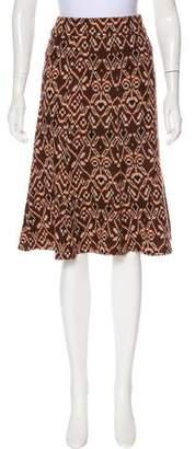 Diane von Furstenberg Patterned Knee-Length Skirt