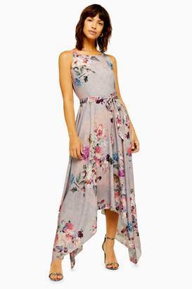 Womens **Cosmos Floral Print Dress By Lace & Beads - Pink