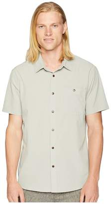 Quiksilver Waterman Short Sleeve Woven Tech Shirt 2 Men's Clothing