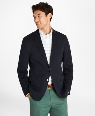 Brooks Brothers Regent Fit Two-Button Knit Blazer