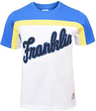 Franklin & Marshall Boys Logo Colourblock T-shirt
