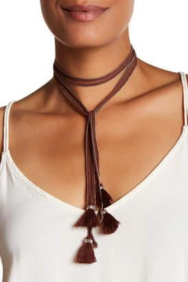 Chan Luu Chiffon Tie Necklace $48 thestylecure.com