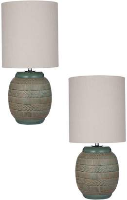 Amalfi by Rangoni Hartley Table Lamp (Set of 2)