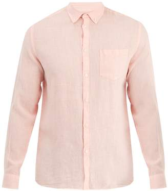 Solid & Striped Classic button-down linen shirt