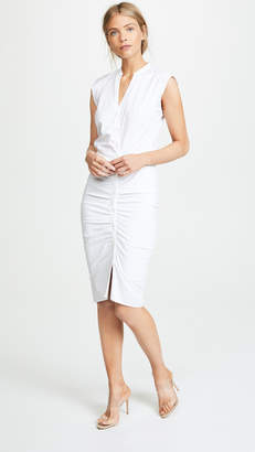 Veronica Beard Long Ruched Dress