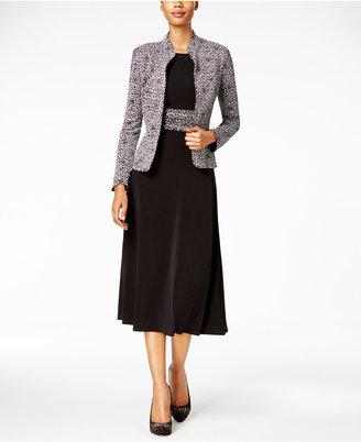 Jessica Howard Sparkle-Printed Dress & Jacket $109 thestylecure.com