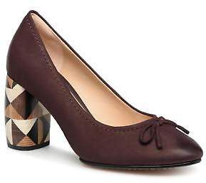 Clarks Women's Grace Nina Rounded toe High Heels in Purple