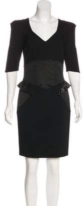 Vdp Collection Embellished Sheath Dress