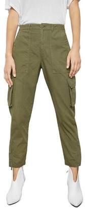 Anine Bing Cropped Cargo Pants