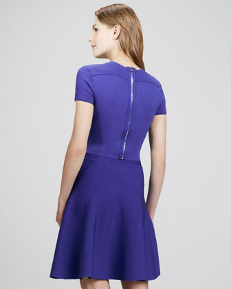 Rebecca Taylor Crepe A-Line Dress