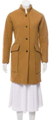 The Arrivals Cassel Wool-Blend Short Coat