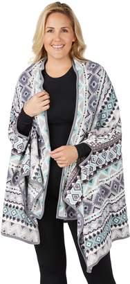 Cuddl Duds Plus Size Blanket Wrap