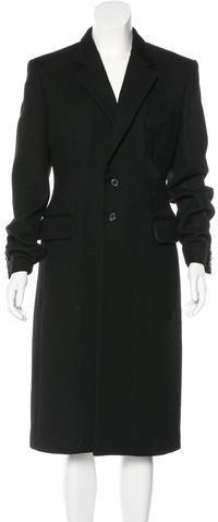Balenciaga Balenciaga Wool & Mohair-Blend Coat