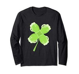 Green Beer Clover St. Patrick's Day Long Sleeve Shirt