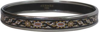 One Kings Lane Vintage HermAs Enameled Bangle Bracelet with Pouch - The Emporium Ltd.